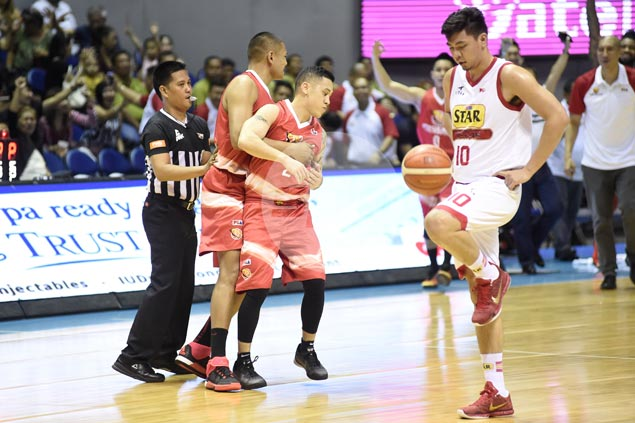 PBA players, coach fined P63,500 for flagrant fouls, flops, 'addressing commissioner'