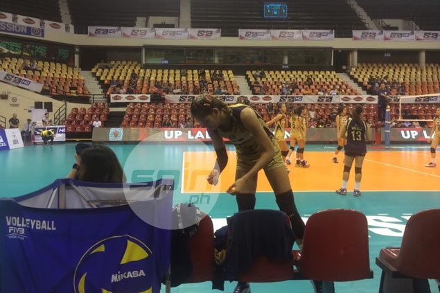 Thanks to HPG, Jaja Santiago arrives in time from Binan for NU match in V-League