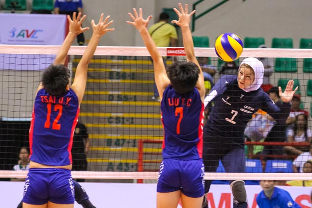 Sarmayeh Bank of Iran makes quick work of Chinese Taipei squad in Asian club meet