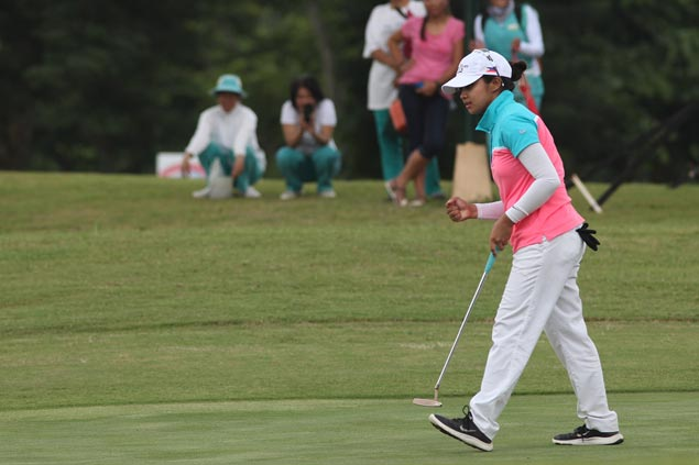 Princess Superal wins four-way playoff to bag title in first tournament as a professional