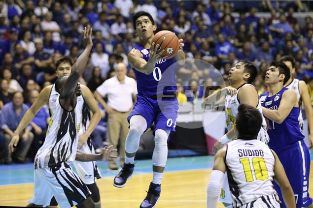 Thirdy Ravena says trying to emulate MVP brother Kiefer the last thing in his mind