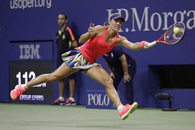 Angelique Kerber ends Serena Williams' long reign as world no. 1, then routs Wozniacki in US Open