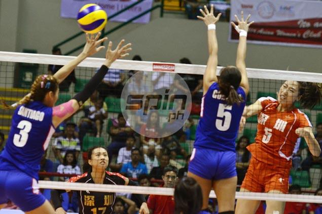 No miracles as China's Ba'yi Shengzheng sends Foton Pilipinas packing in three sets
