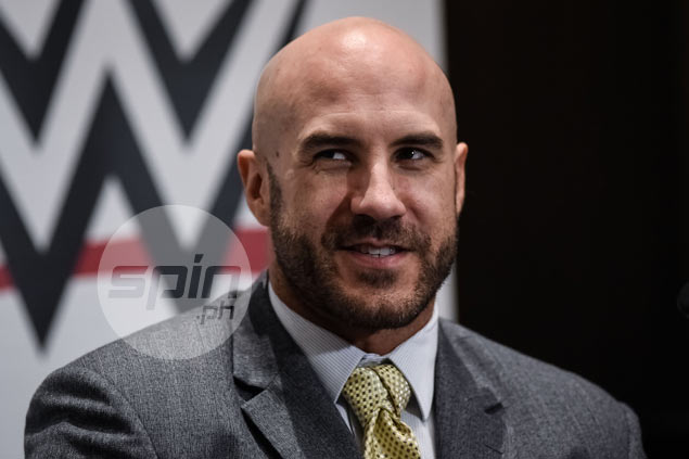 WWE stars Cesaro and Charlotte swear wrestling is 'serious business'