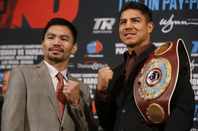 Roach says Jessie Vargas not in Pacquiao's league, eyes one more shot at Mayweather