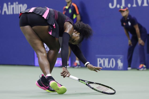 Serena Williams bows out of US open semis anew as Karolina Pliskova reaches first major finals