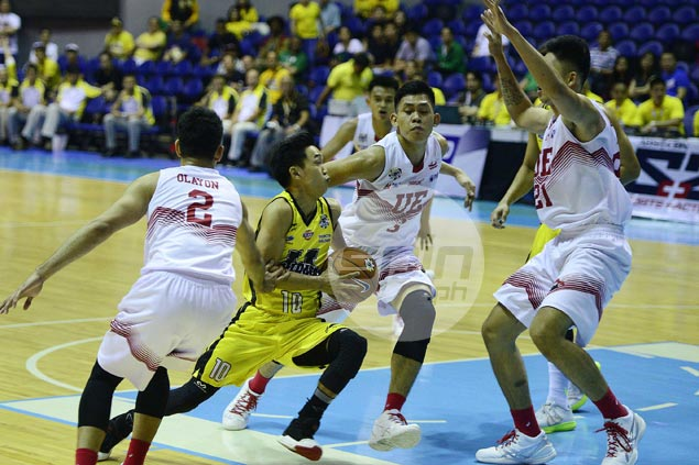 Renzo Subido shines as UST Tigers squeak past UE Red Warriors for first win in UAAP Season 79
