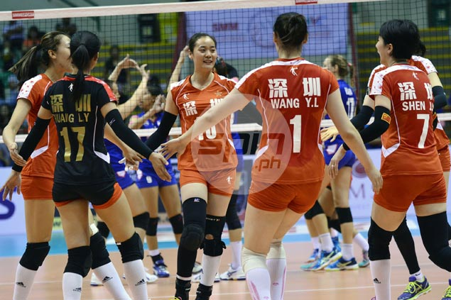 Ba'Yi Shenzheng survives gallant Altay VC stand to enter Asian Women's Club Championship finals