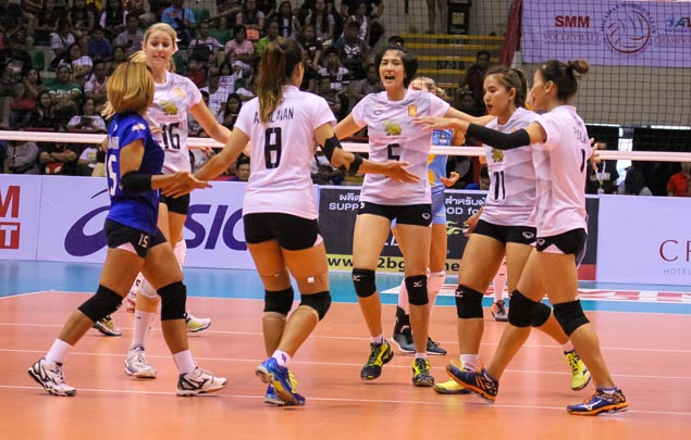 Bangkok Glass fights back from two sets down to beat Kazakhstan's Altay VC in battle for third