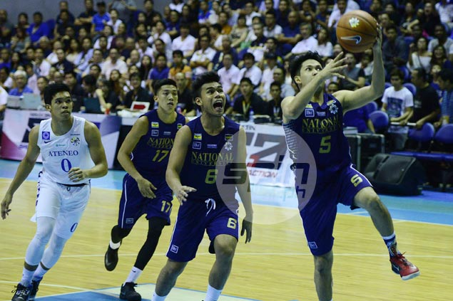 Rev Diputado, Matt Salem shine as NU Bulldogs beat Ateneo Blue Eagles