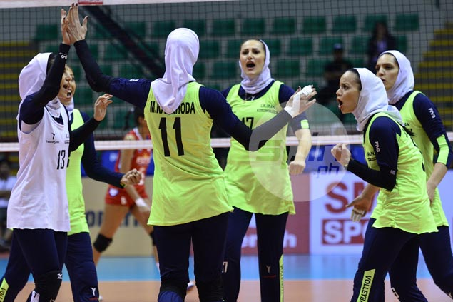 Iran winds up fifth with straight-sets victory over Vietnam in Asian women's club volley meet