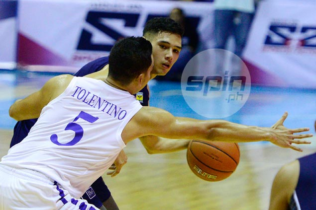 Former La Salle player Matt Salem overcomes jitters, finds his feet with NU Bulldogs