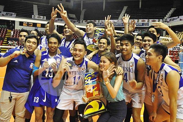 Ateneo beats National University to complete another conference sweep in Spikers Turf