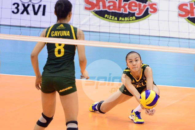 FEU Lady Tamaraws survive five-set match against UP Lady Maroons to close in on third place in V-League