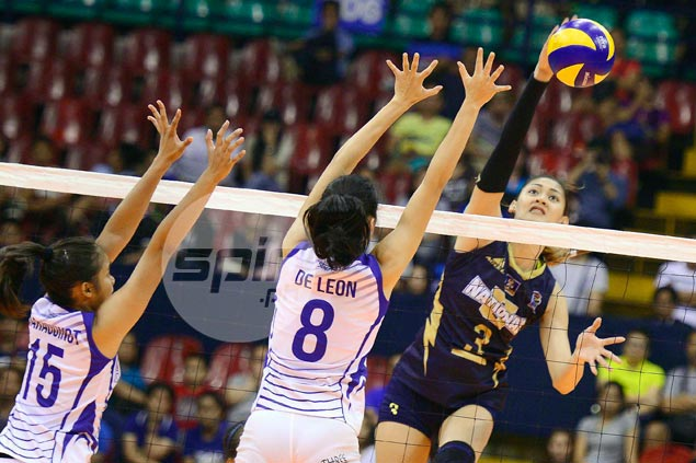 NU Lady Bulldogs comeback denies Ateneo famous upset in five-set V-League thriller
