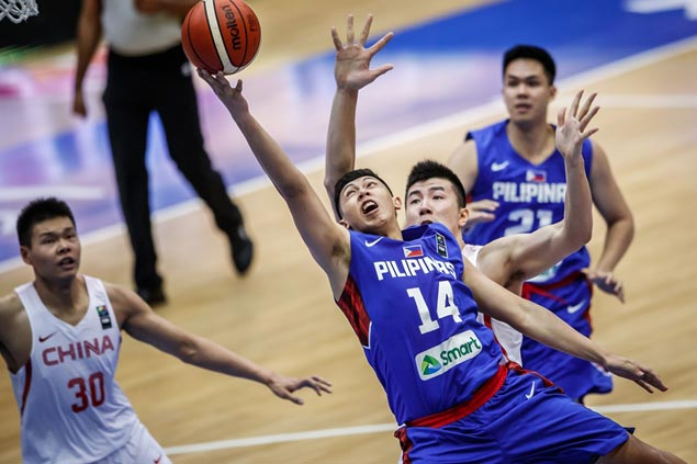 Towering China side deals Gilas 5.0 third straight loss in Fiba Asia Challenge Cup
