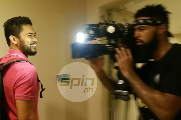 Gadget freak Mo Tautuaa levels up, plays around with TV camera this time