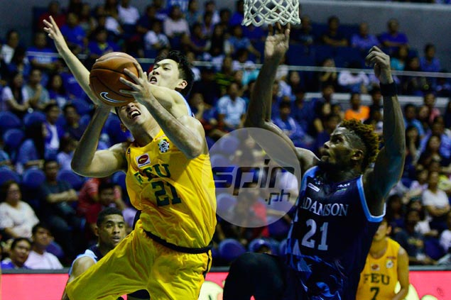 Batang Gilas experience goes a long way as Richard Escoto holds fort at FEU