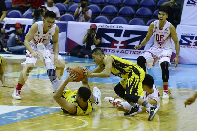 UST Tigers forward Jan Macasaet making up for lost time after a season wasted by injury