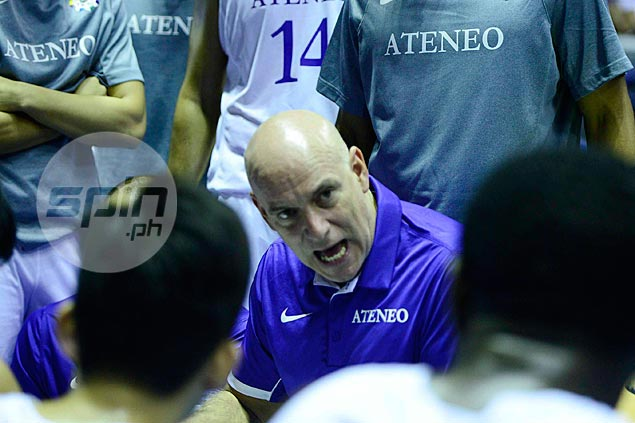 PSC chief finds it 'inappropriate' that Tab Baldwin is coaching Ateneo in UAAP rather than Gilas in Iran