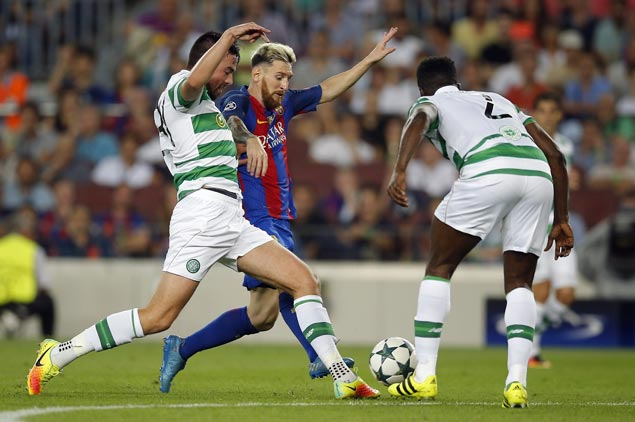 Lionel Messi scores hat trick, Neymar shows playmaking skills as Barca thrashes Celtic