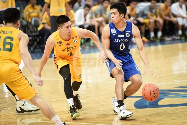 Thirdy Ravena quick to atone for letdown against NU by letting game come to him