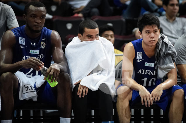 Ateneo guard Aaron Black set for X-rays to determine extent of left foot injury