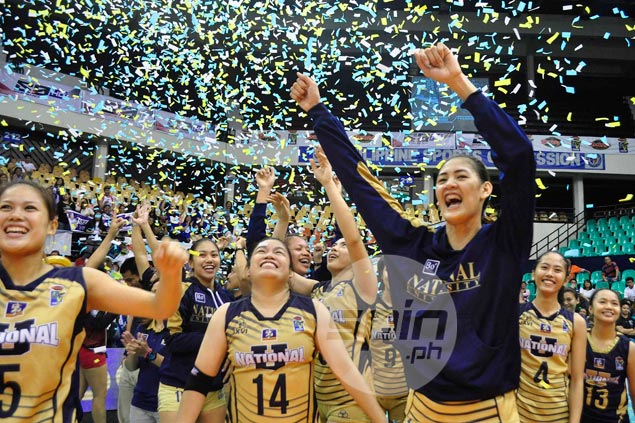 NU Lady Bulldogs sweep Ateneo Lady Eagles to claim back-to-back V-League Collegiate Conference titles