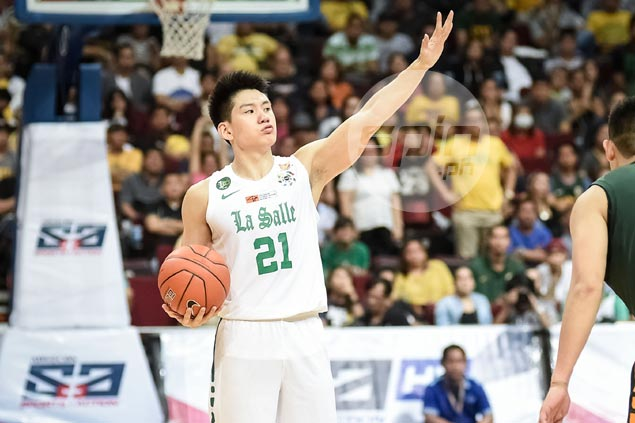 Dean's Lister Jeron Teng wants to graduate from La Salle an honor student and champion athlete
