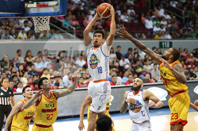 TNT Katropa resurgence brings Troy Rosario closer to Rookie of the Year award