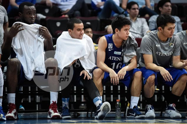 Aaron Black out a few weeks, but Ateneo officials mum on extent of foot injury