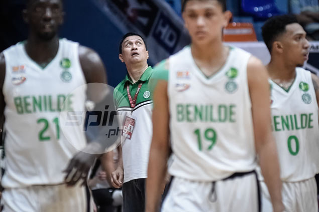 As Benilde nears NCAA record in futility, coach laments 'pera-pera' recruitment culture