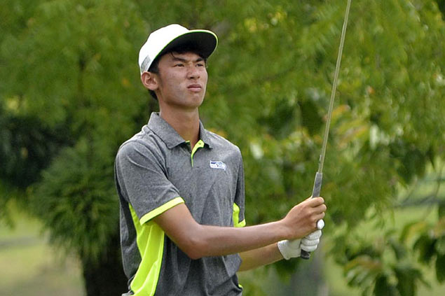 Teen Micah Shin tears up Luisita layout with fiery 65, opens four-shot lead
