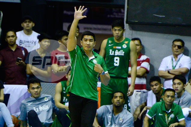 Ayo thankful for technical delay, says it gave La Salle opportunity to regroup