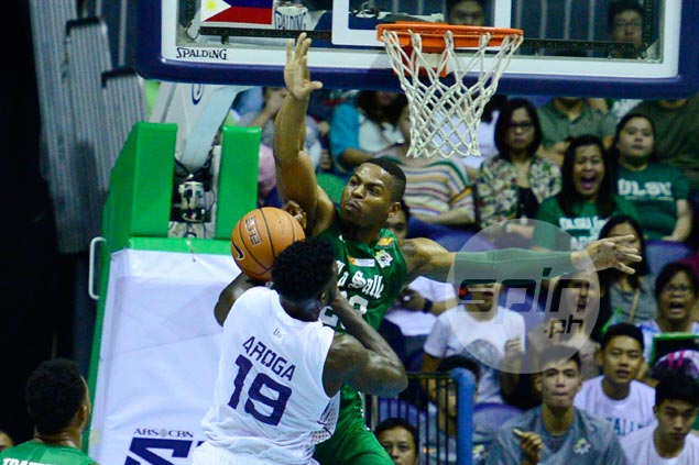 Alfred Aroga bristles at questions over duel with Ben Mbala, insists La Salle 'beatable'