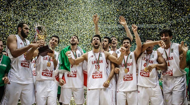 Haddadi-led Iran asserts supremacy with unbeaten run to Fiba Asia Challenge title