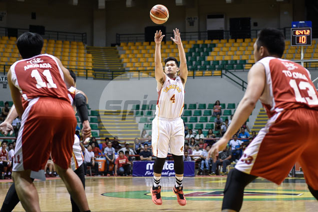 Gelo Alolino sees Mighty stint as major stepping stone ahead of PBA Rookie Draft