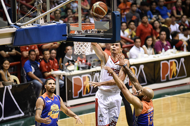 Japeth Aguilar believes Ginebra at its best when spreading the wealth