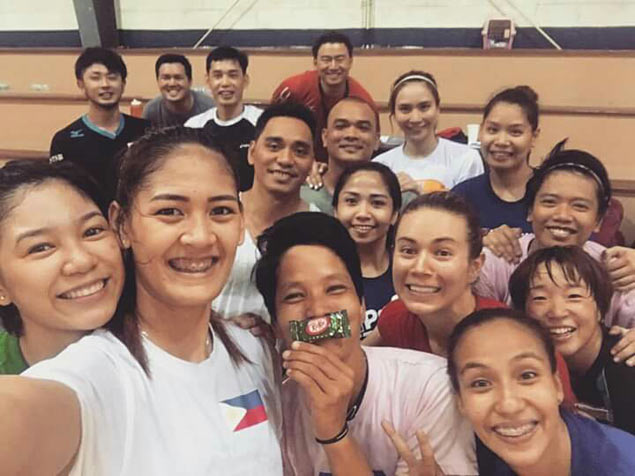 PSL Manila trainer Shun Takahashi yet to get used to all the attention from volleyball fans