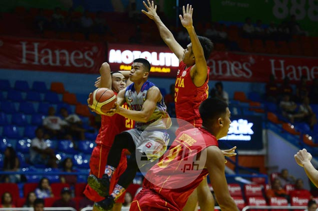 Jalalon erupts for 35 as Arellano tops Mapua to clinch twice-to-beat spot in Final Four