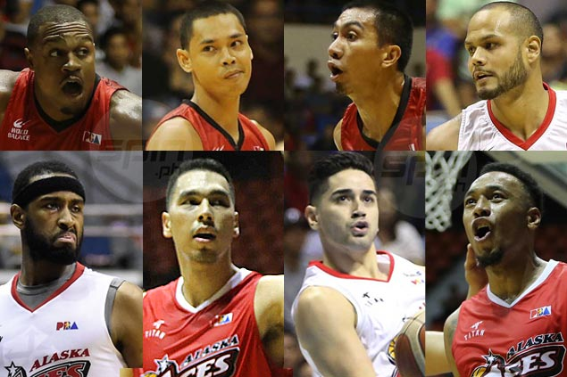 Let's take a look at match-ups as Ginebra, Alaska lock horns in PBA playoffs