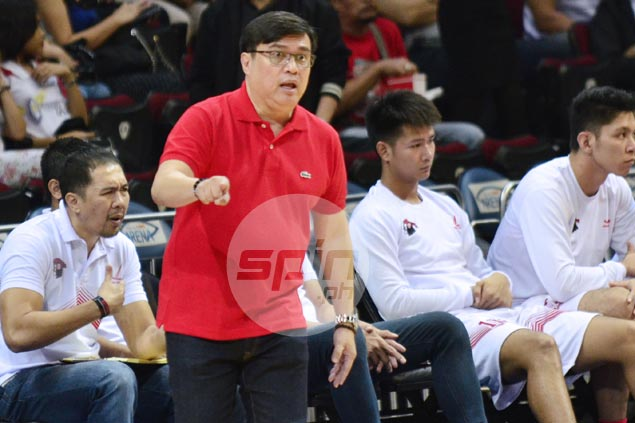 Derrick Pumaren glad to see UE Warriors rewarded after keeping faith in system