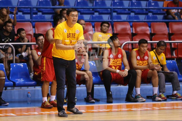 Coach Egay Macaraya hopes second round surge carries over to next season for Stags