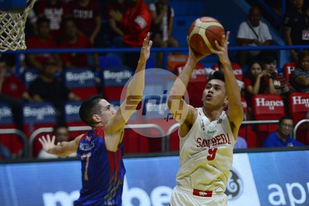 San Beda beats Arellano in top-of-table clash to set up playoff for No. 1 spot in Final Four