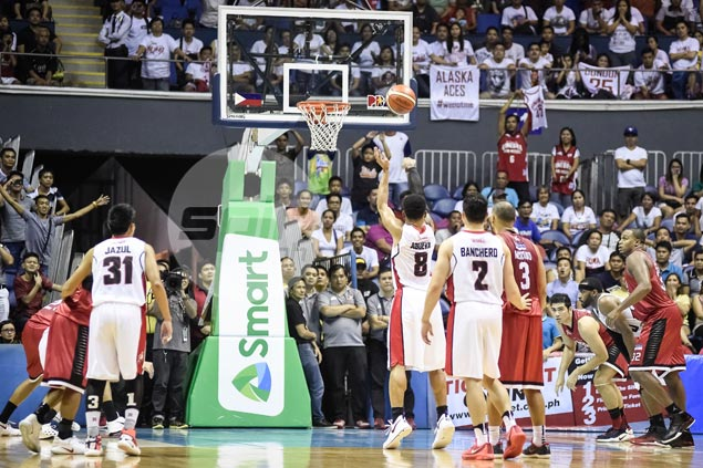 Calvin Abueva blames fatigue for missed free throws, but still proud to give Ginebra scare