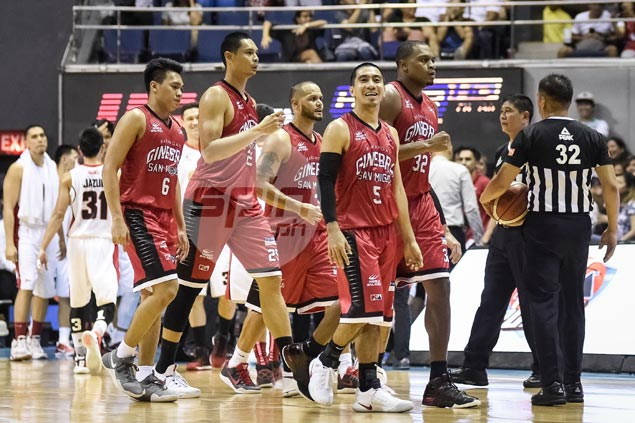 Cone says San Miguel - not TNT - is team to beat as PBA race narrows down to four