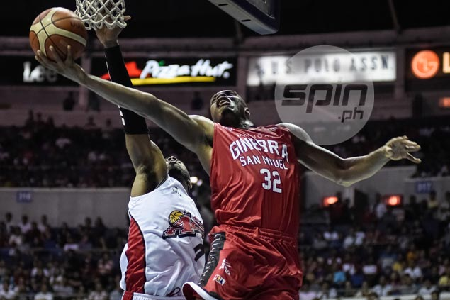 Ginebra marches on to semifinals as timely Brownlee trey douses Alaska comeback
