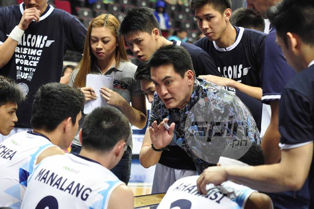 Franz Pumaren says Adamson Falcons at their worst in loss to La Salle