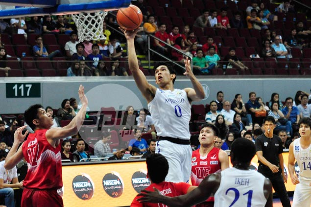 Quick-fire Ateneo gets back on winning track by dominating winless UE Warriors