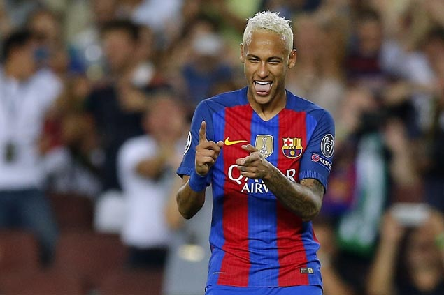 No Messi, no problem as Neymar, Suarez inspire Barca to rout of Sporting in La Liga